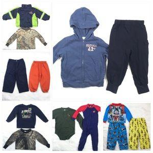 13 Item Bundle Baby Boy 24 Month Fall Winter Lot
